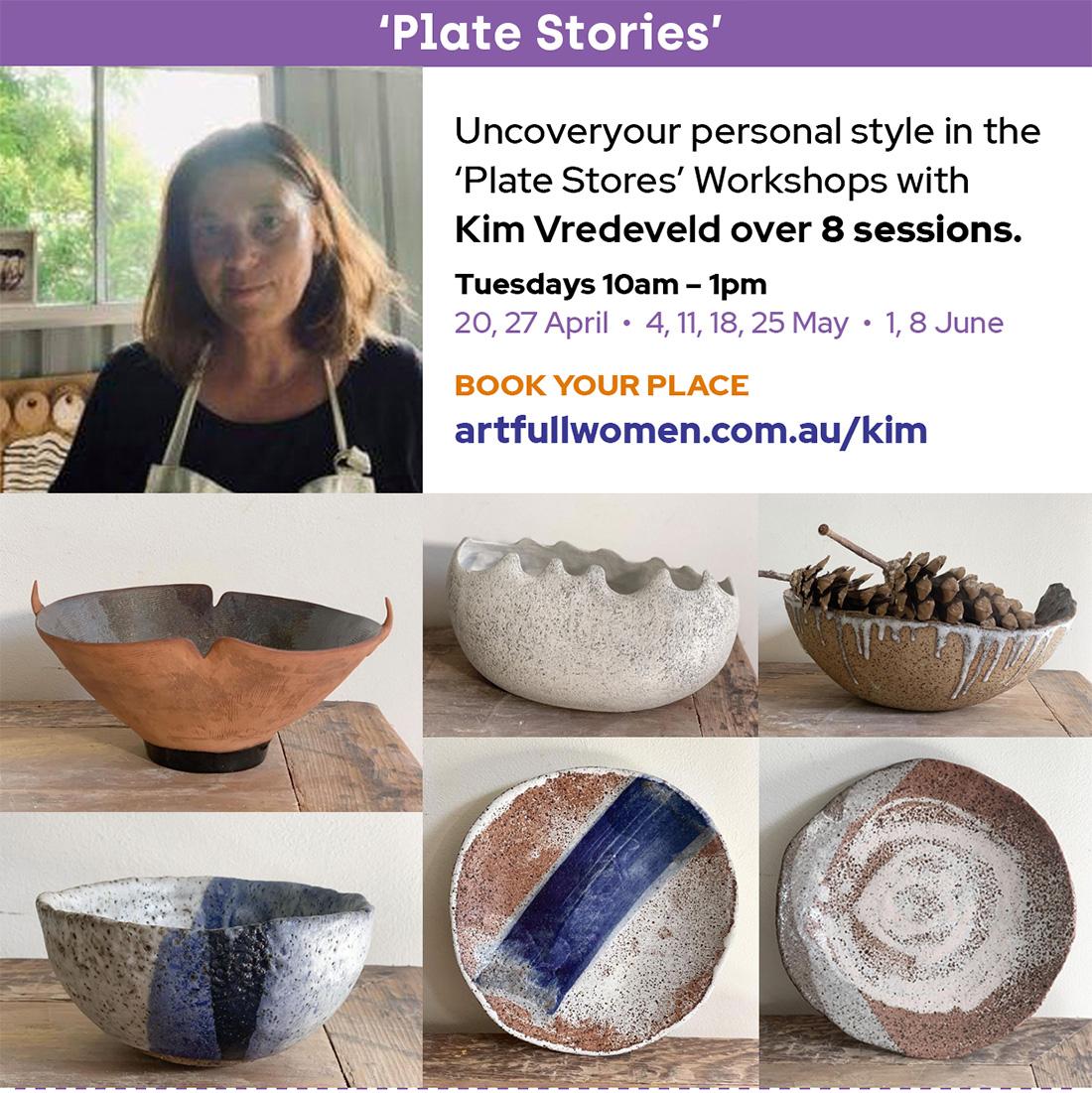 'Plate Stores' Ceramic sWorkshops