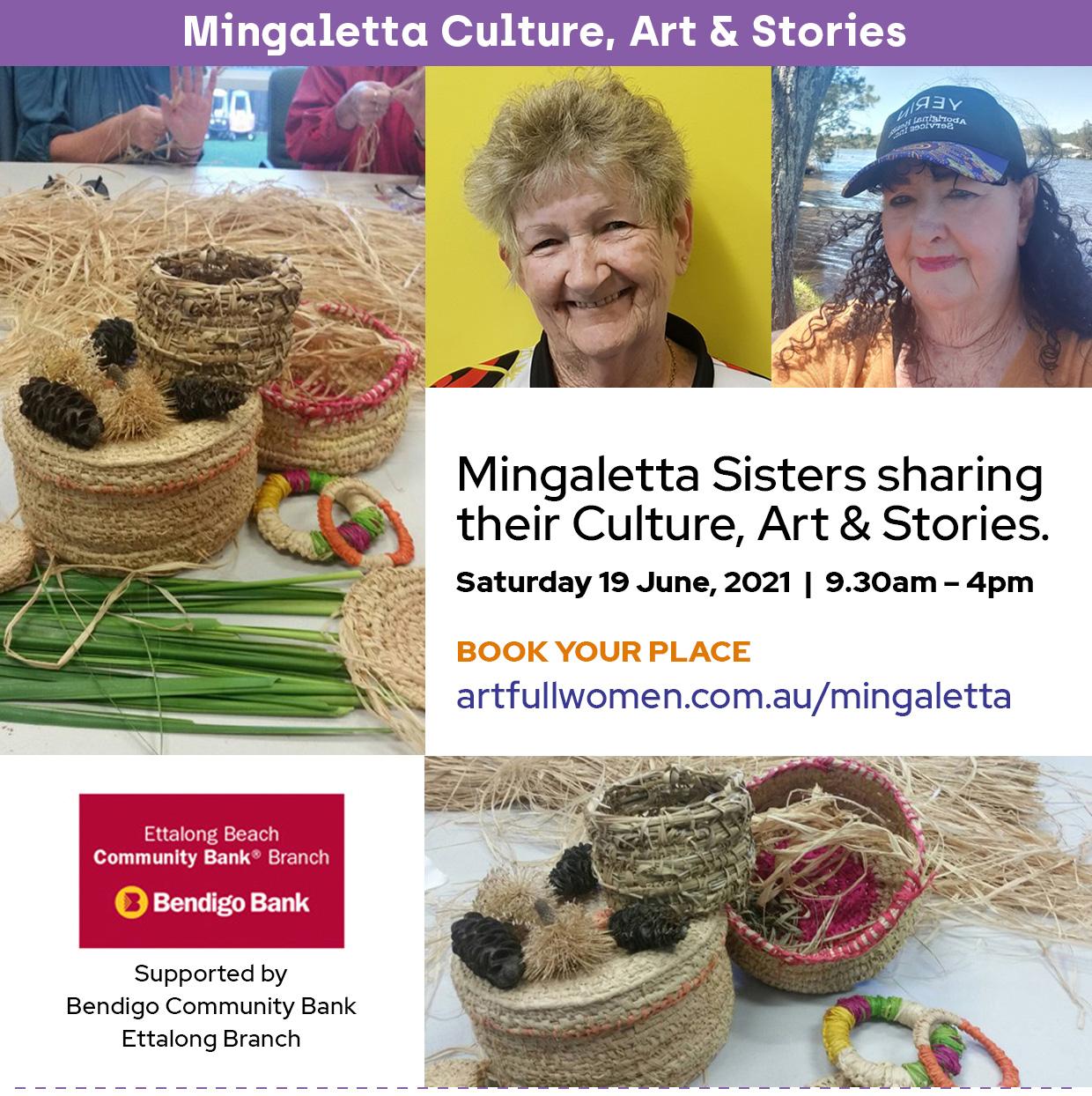 Mingaletta Culture, Art & Stories